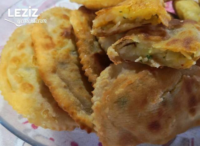 Patatesli El Açması Puf Böreği