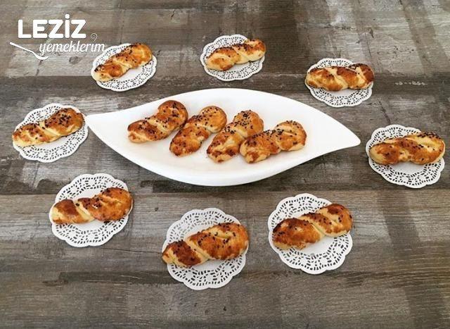 Nefis Tuzlu Pastane Kurabiyesi (Bayatlamayan)