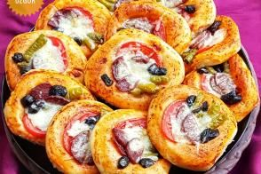Puf Mini Pizza