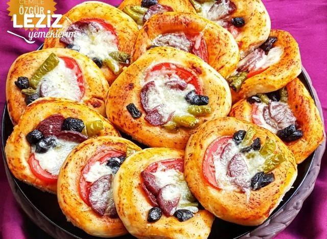 Puf Mini Pizza