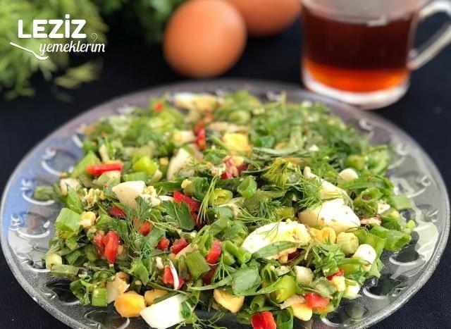Yumurta Salatası Tarifi, Nasıl Yapılır