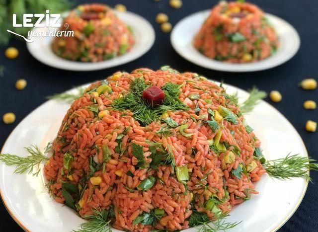 Pancarlı Pirinç Salatası