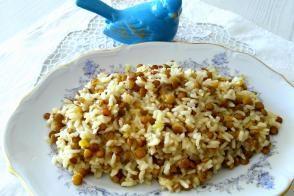 Mercimekli Pirinç Pilavı