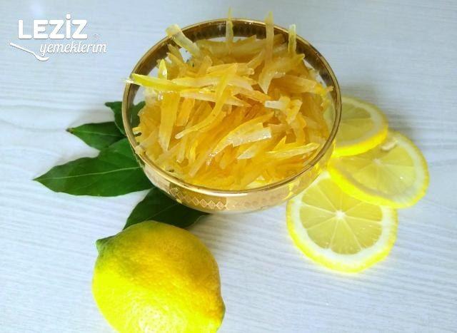 Limon Kabuğu Reçeli