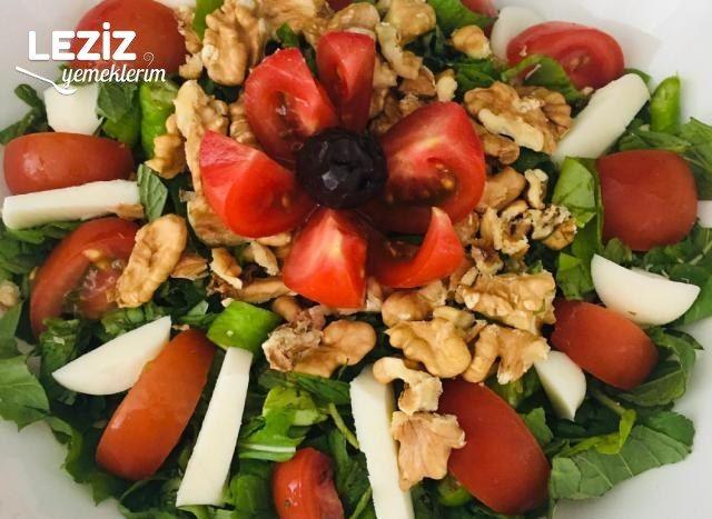 Nefis Kahvaltı Salatası Tarifi