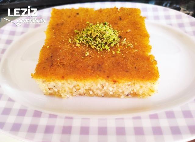 Portakallı Fındıklı Revani Nasıl Yapılır