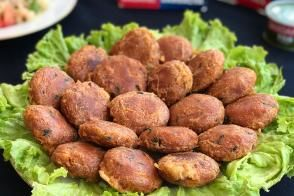 Ton Balıklı Patates Köftesi