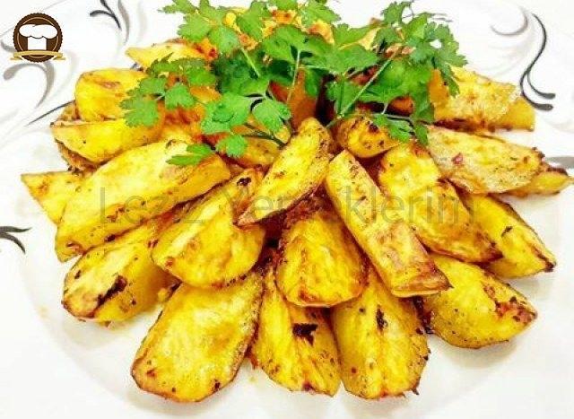 Aperatif Fırın Patates