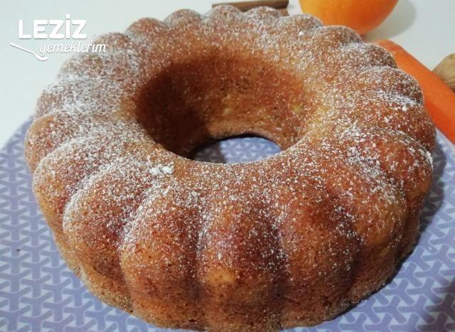 Portakal, Havuç Ve Tarçınlı Kek
