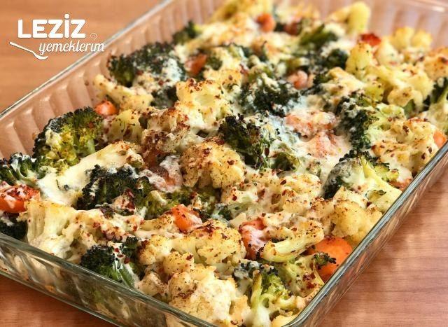 Fırında Karnabahar Ve Brokoli