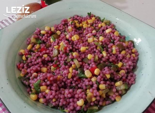 Şalgamlı Kuskus Salatatası Tarifi