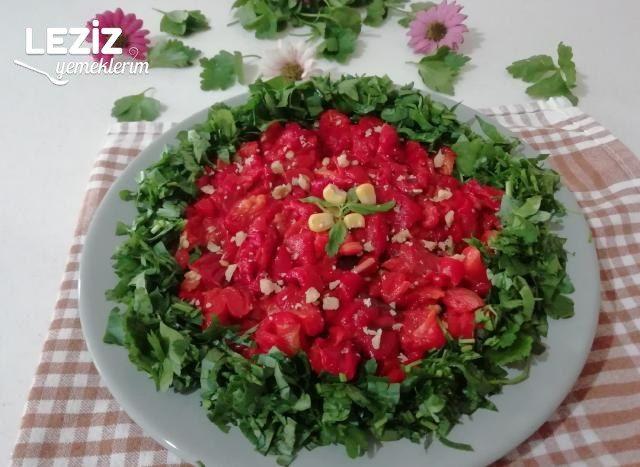 Cevizli Köz Biber Salatası
