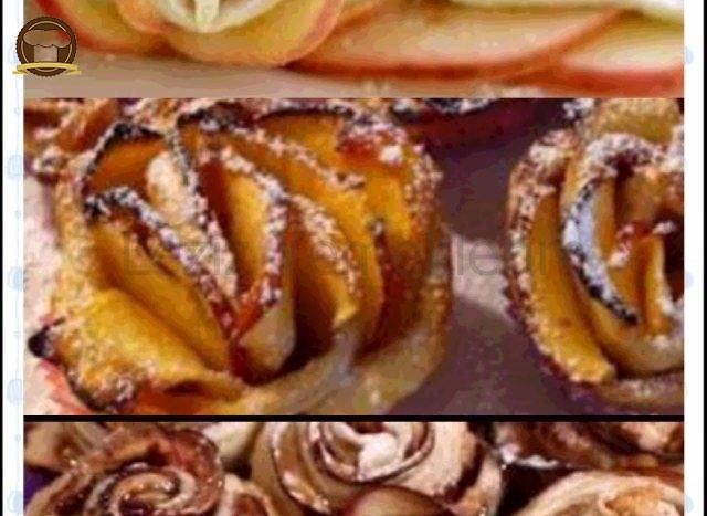 Elmalı Milföylü Gül Böreği