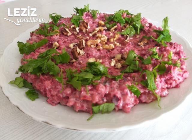 Pancarlı, Mor Lahanalı Şehriyeli Yoğurtlu Salata