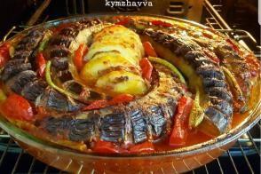 Fırında Çok Kolay Patlıcan Kebabı