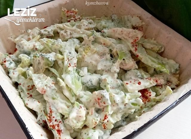 2 Dakika Da Hazır Yoğurtlu Brokoli Salatası