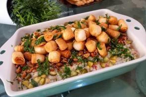 Çıtır Yufkalı Harika Salata