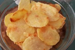 Mikrodalgada Ev Yapımı Patates Cipsi