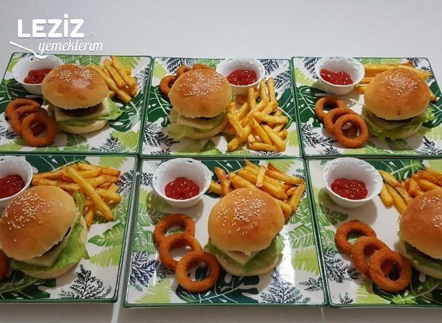 Evde Hamburger Ekmeği Nasıl Yapılır