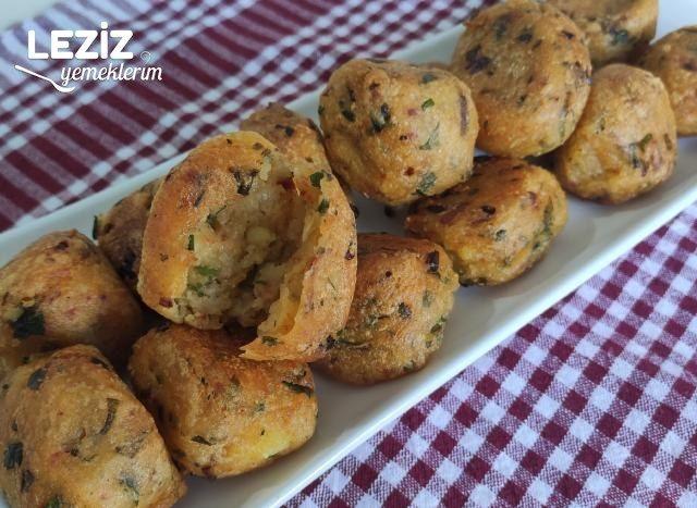 Kahvaltılık Çıtır Patates Topları