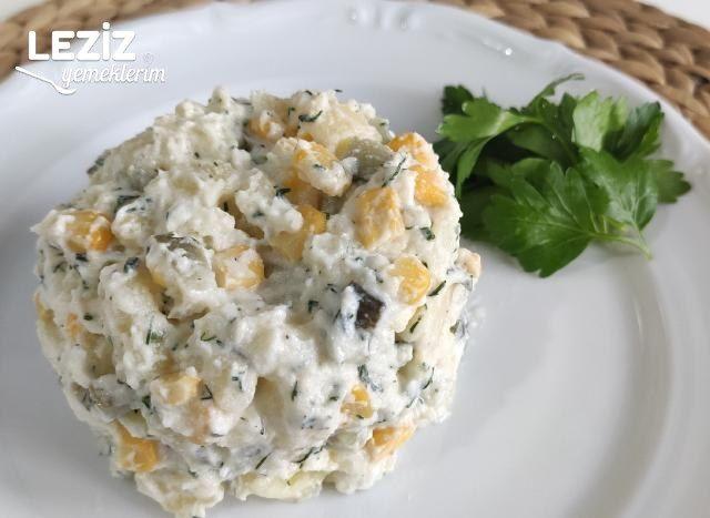 Özel Soslu Patates Salatası