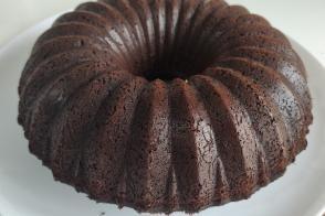 Kremşantili Kakaolu Kek