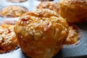 Muffin Kalıbında Patatesli Kek