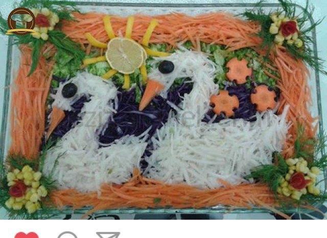 Kuğulu Salata