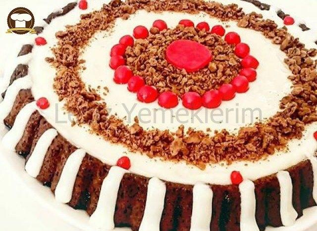 Kremalı Islak Tart Kek