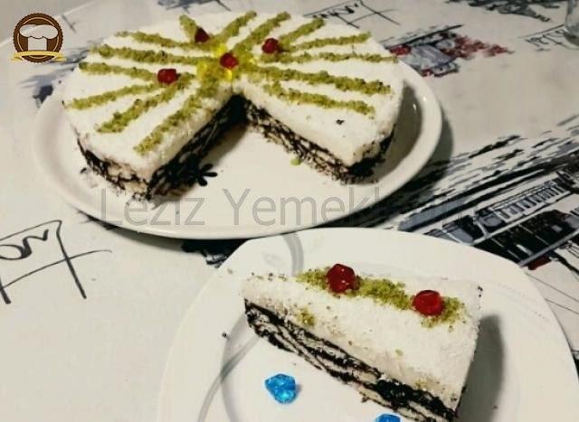 Kremalı Mozaik Pasta
