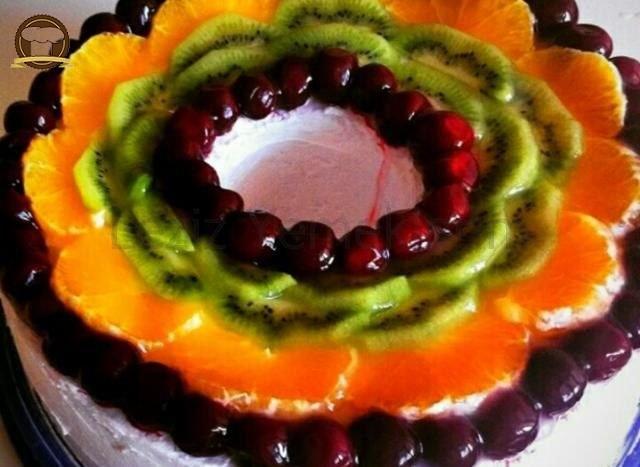Nefis Meyveli Pasta