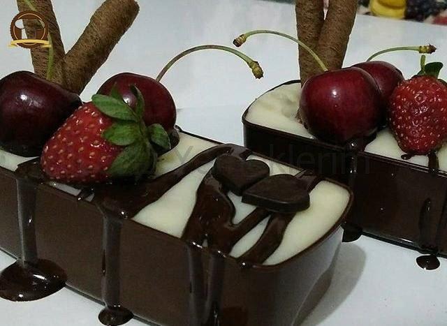 Çikolata Kasesinde Oreolu Puding