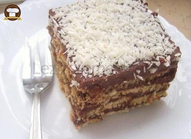 Çikolatalı Bisküvi Pastası