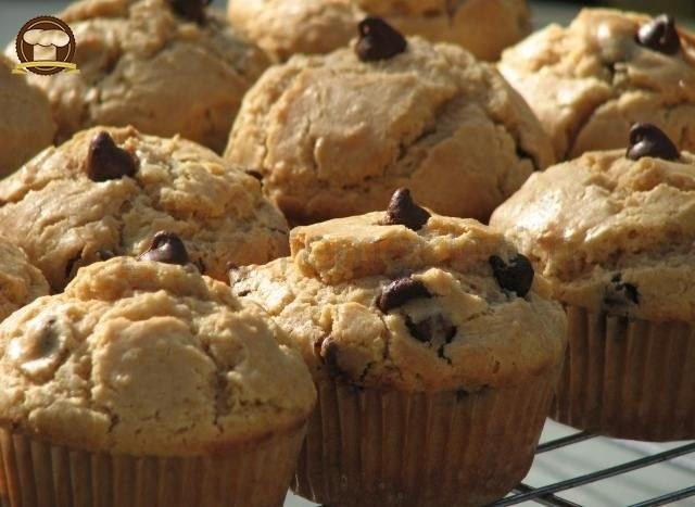 Çikolatalı Ve Fıstık Ezmeli Muffin