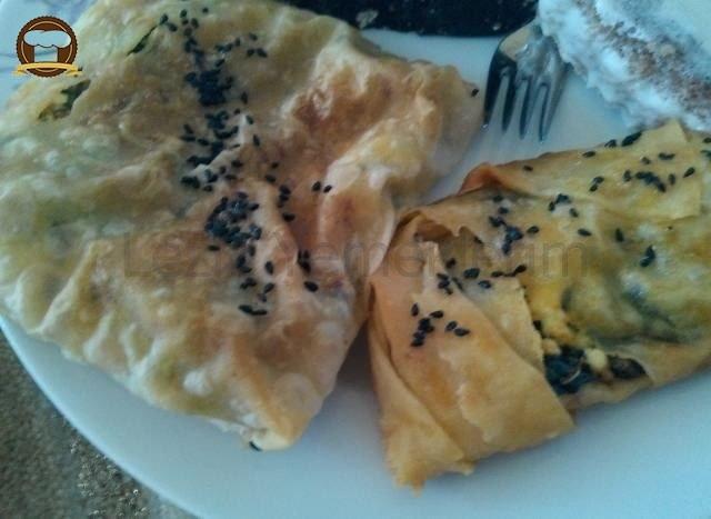 Milföy Tadında İçi Yumuşacık Dışı Çıtır Börek