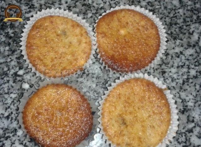 Cevizli Mini Kek