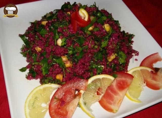 Şalgamlı Bulgur Salatası Yapımı