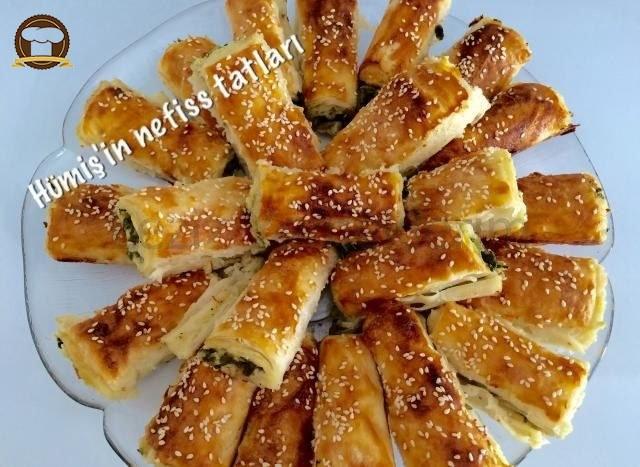 Ispanaklı Puf Börek