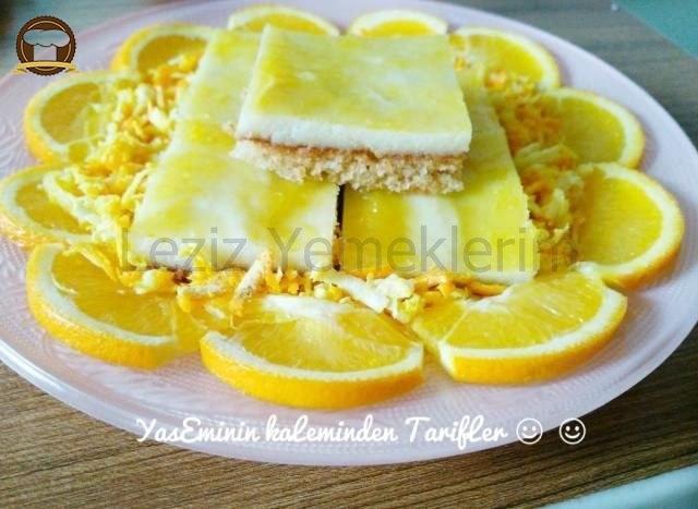Portakallı İrmikli Kek