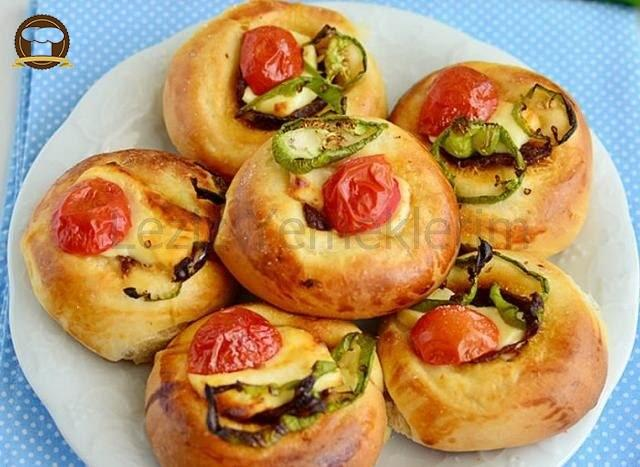 Pizza Poğaça Tarifi