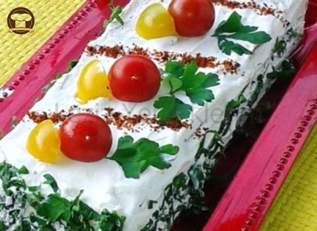 Köz Patlıcanlı Etimek Pastası