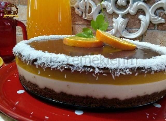 Portakal Soslu Cheesecake