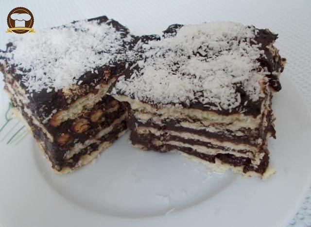 Kolay Bisküvili Pasta Yapımı (Aşamalı Anlatım)