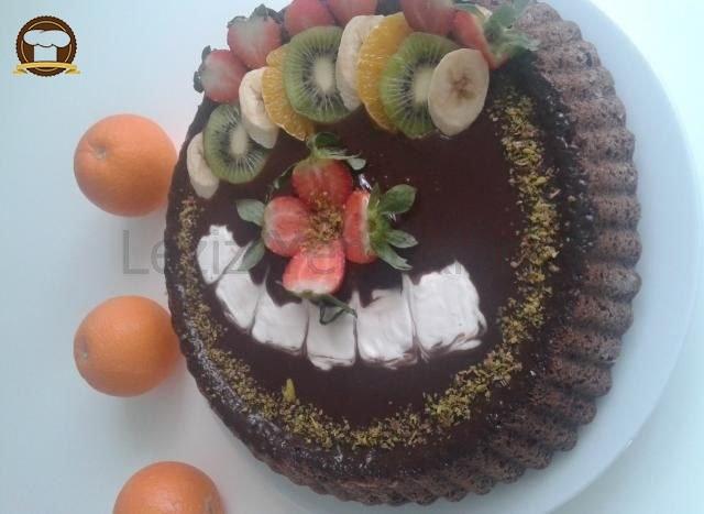 Meyveli Tart Kek Yapımı