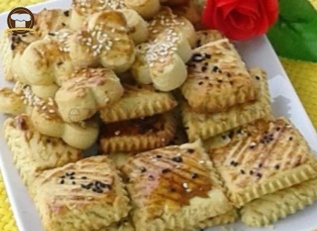 Tuzlu Pastane Kurabiyeleri