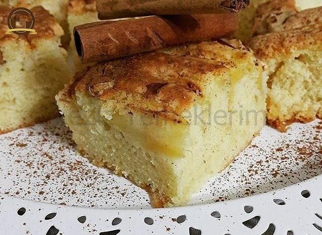 Elmalı Kek Nasıl Yapılır