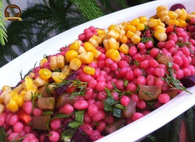 Kuskus Salatası Yapılışı