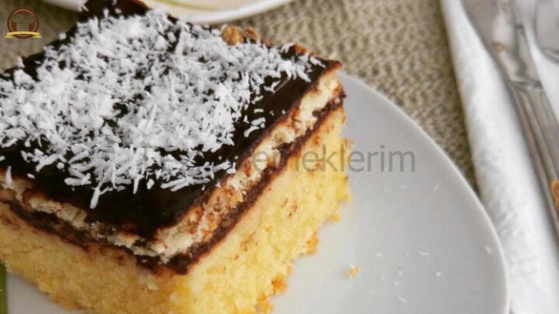 Kekli Bisküvili Pasta