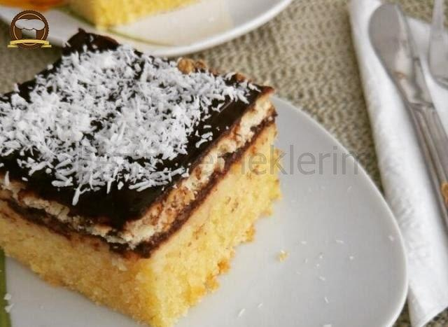 Bisküvili Kekli Pasta