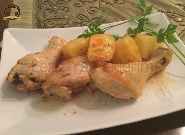 Tavuk Baget Fırın Torbasında